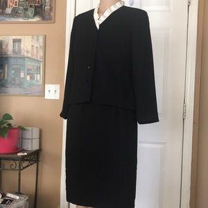 Talbots skirt suit